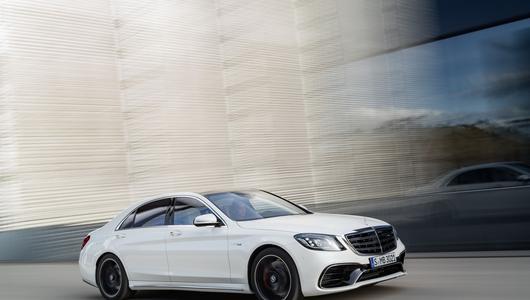 Najnowszy Mercedes klasy S (W222) po faceliftingu