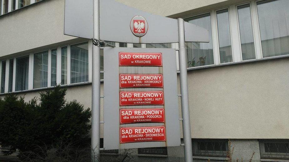 Sąd w Krakowie