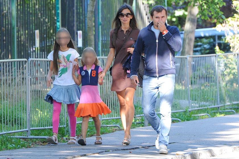 Mąż Kaczyński po roku odwiedził dzieci!