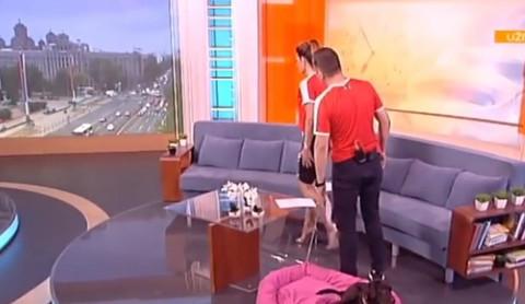 NAJAVILI GA, A ON SE NIJE POJAVIO: Jovana i Srđan se zabrinuli i tražili gosta po studiju! (VIDEO)