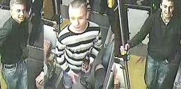 Ci bandyci napadli na pasażera autobusu
