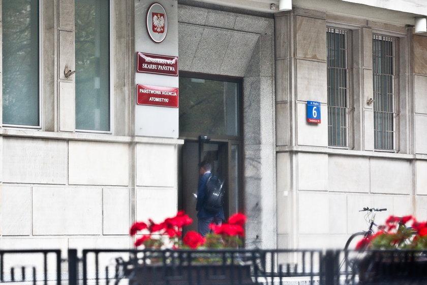 CBA przeszukuje budynki GPW i ministerstwa skarbu