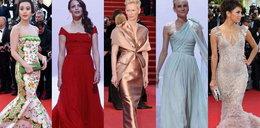 Hit otwarcia Cannes: suknie z trenem