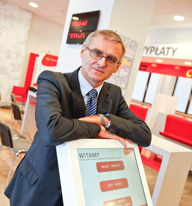 Janusz Wojtas, członek zarządu Poczty Polskiej