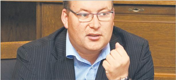 Sebastian Ptak, dyrektor w Blue Media Fot. Wojciech Górski