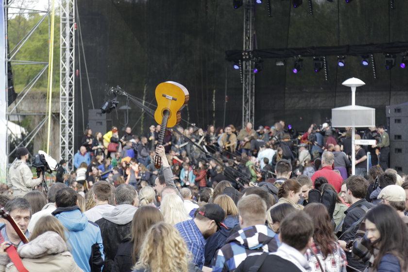 Gitarowy Rekord Guinnessa we Wrocławiu