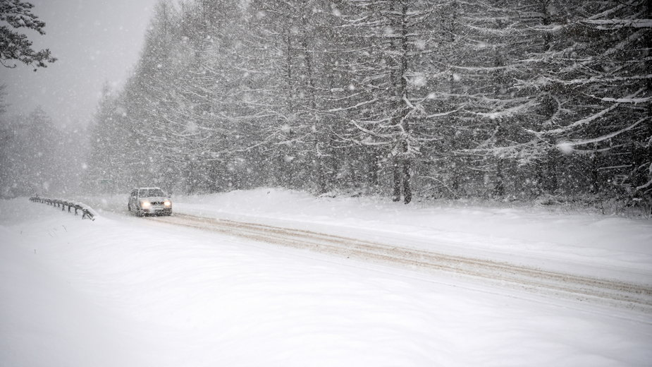 Bardzo niskie temperatury w Polsce. Nawet do minus 28 st. C na Północy