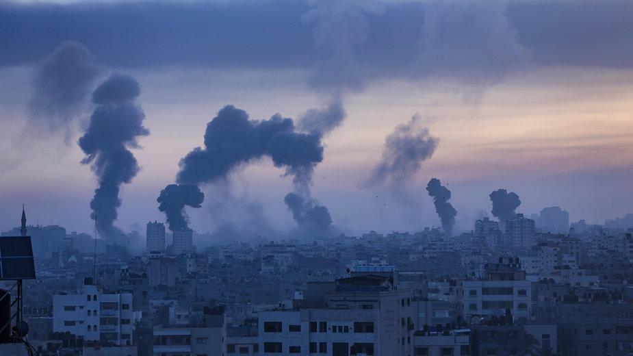 Strefa Gazy w ogniu