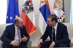 Vučić sa Sobotkom: Nova era u odnosima Srbije i Austrije