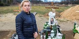 Grabarz z Gostynia wykopał Amelkę z grobu