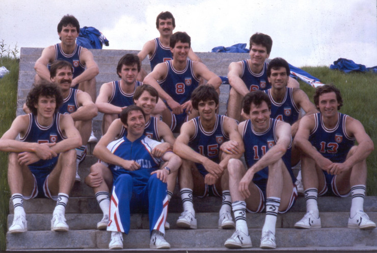 Košarkaška reprezentacija Jugoslavije, OI Moskva 1980.