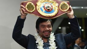 Pacquiao zadeklarował chęć walki z McGregorem