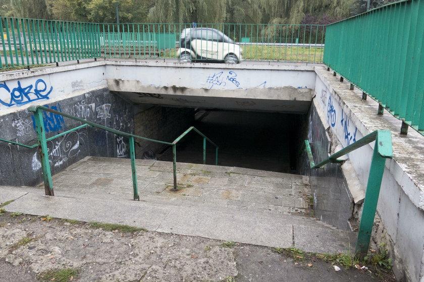 Przejście podziemne w okolicy pl. Kościuszki