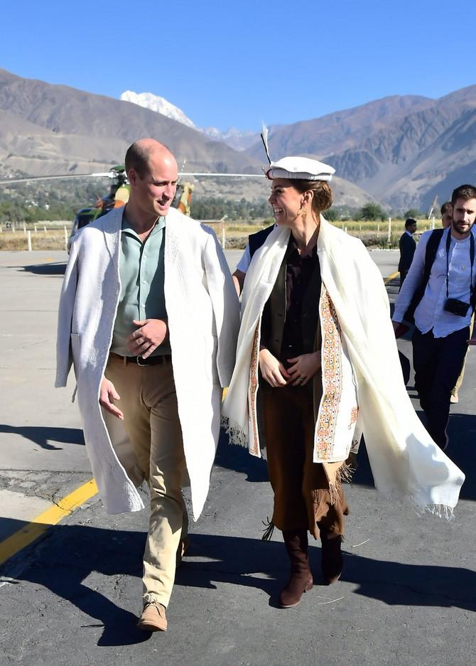 Vojvotkinja i vojvoda  od Kembridža u Pakistanu