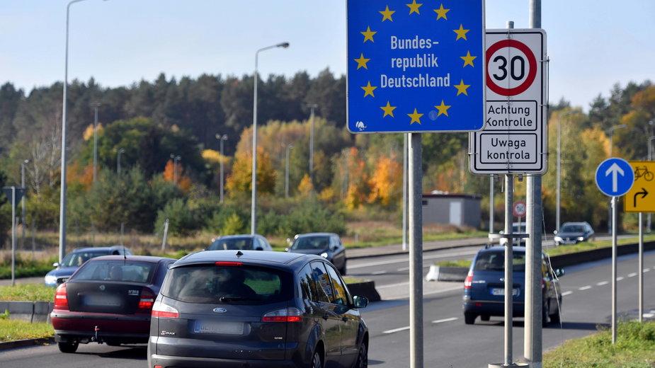 Granica polsko-niemiecka w Lubieszynie