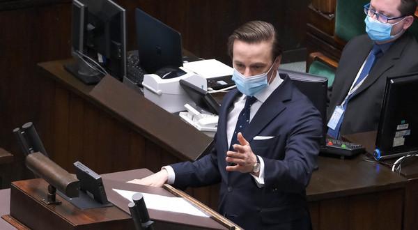 Krzysztof Bosak w Sejmie