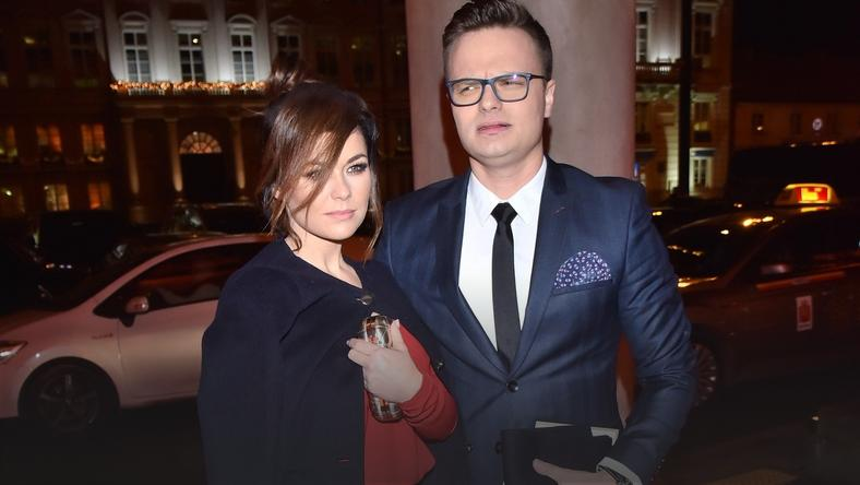 Katarzyna Cichopek i Marcin Hakiel na 25-leciu Polsatu