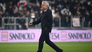 Humiliated: Roma coach Jose Mourinho Creator: Marco BERTORELLO