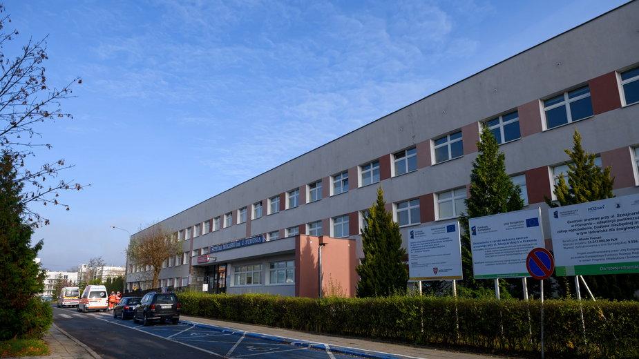 Budynek Wielospecjalistycznego Szpitala Miejskiego im. Józefa Strusia w Poznaniu