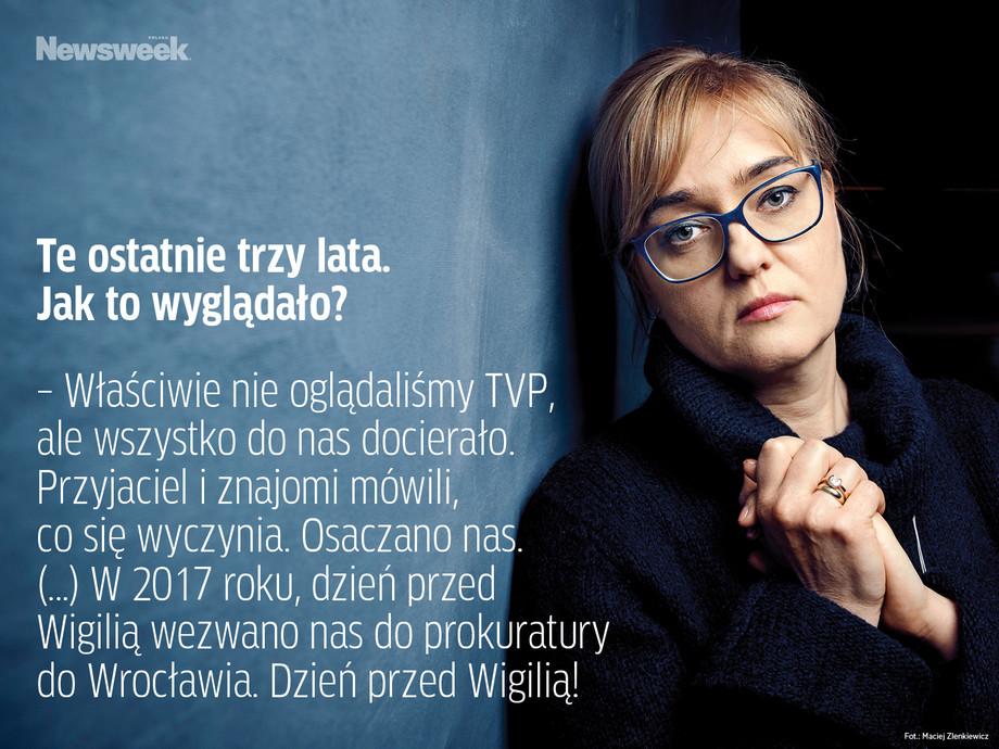 Magdalena Adamowicz, cytaty z wywiadu dla Newsweeka
