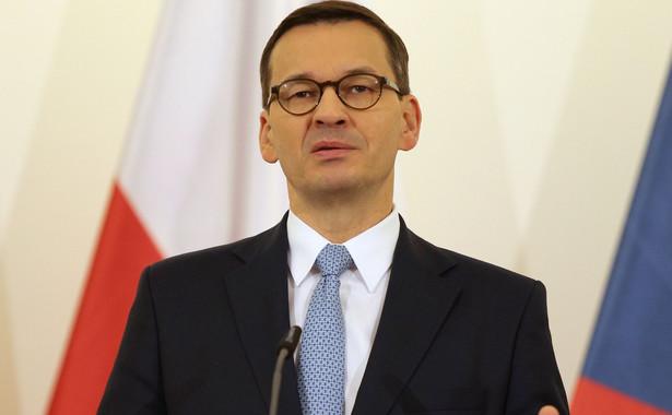 """Grupa Przyjaciół Spójności powiedziała jednoznaczne """"nie"""" propozycjom drastycznych cięć w budżecie UE; powinniśmy pracować nad bardziej sprawiedliwym systemem podatkowym i bardziej skutecznym ściganiem oszustw podatkowych - powiedział PAP premier Mateusz Morawiecki."""