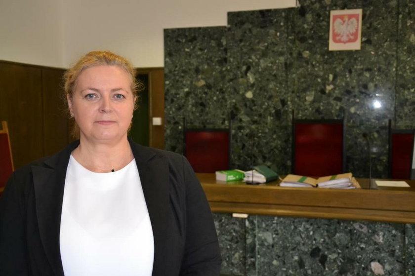 Sędzia Edyta Janiszewska, rzeczniczka Sądu Okręgowego w Kaliszu