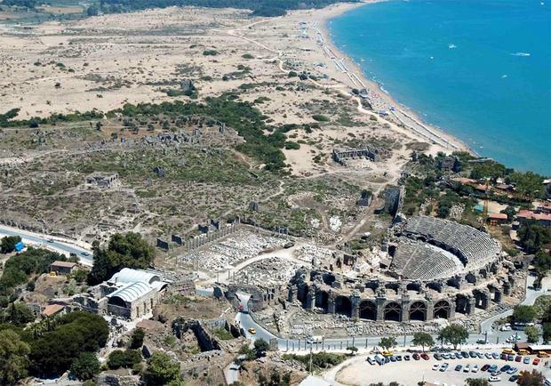 Amfiteatr w Aspendos. Najpiękniejsze miejsca Turcji