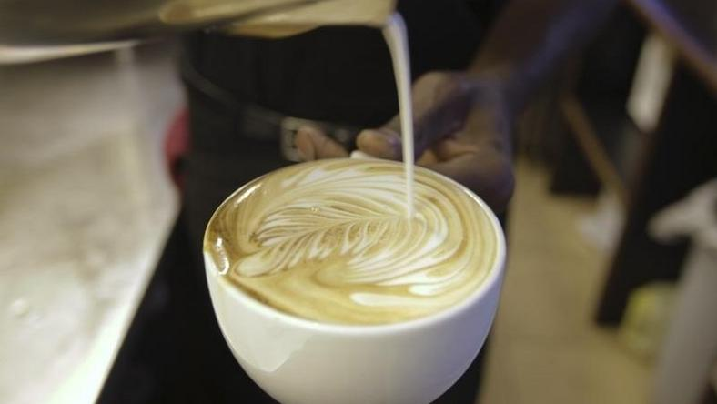 A cappuccino is prepared at a Nairobi Java House outlet in Nairobi January 21, 2012. REUTERS/Noor Khamis
