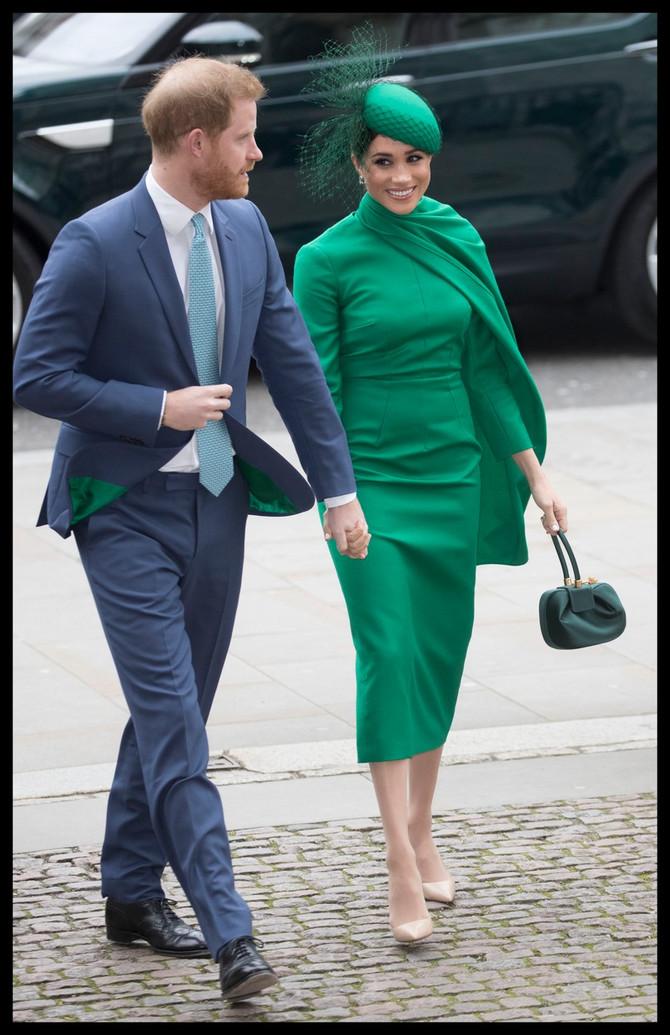 Megan Markl danas sa princom Harijem