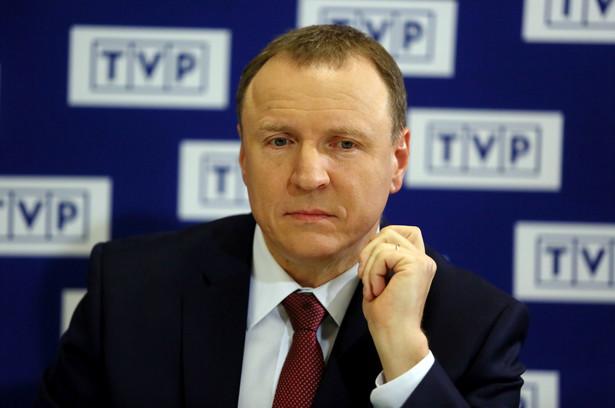 Prezes zarządu TVP Jacek Kurski odwołany