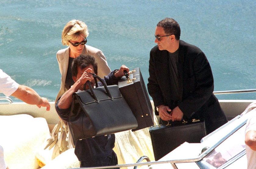 Księżna Diana i Dodi Fayed
