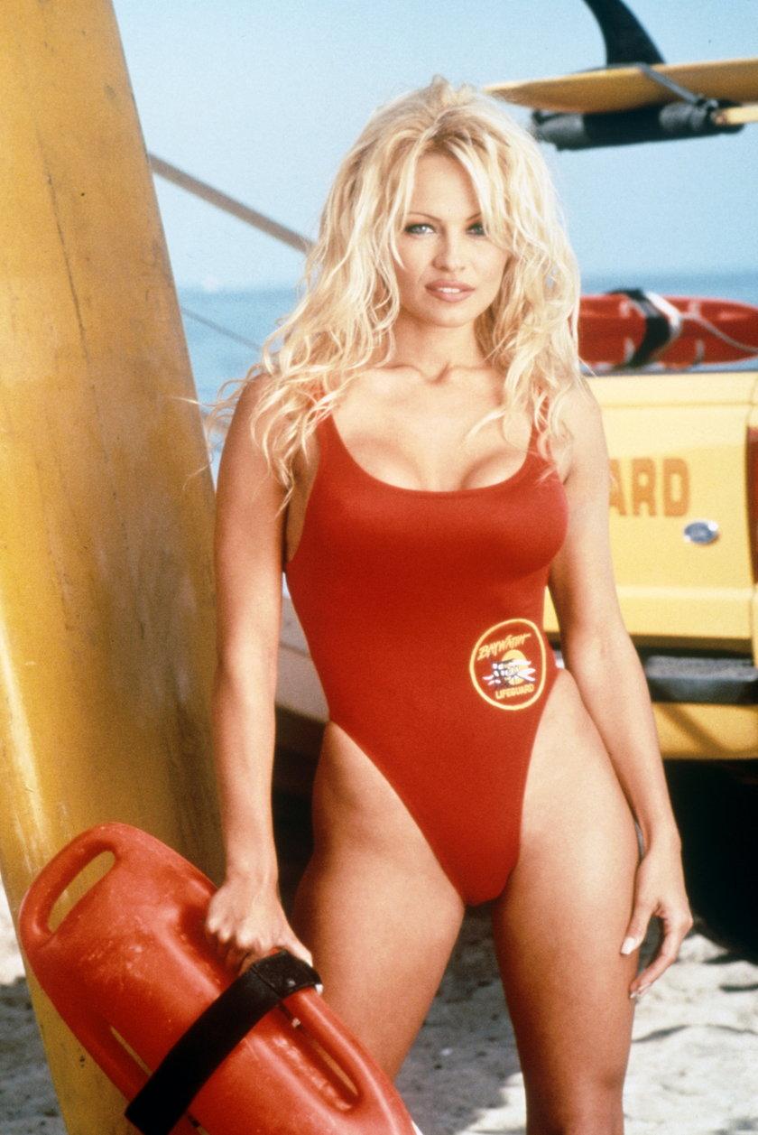 Pamela Anderson w Słonecznym Patrolu