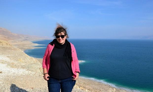 Kamila Napora w Izraelu, fot. www.mywanderlust.pl