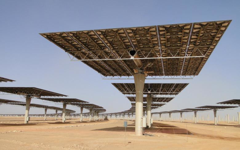 The plant situated at the gateway to the Sahara Desert provides 580 megawatts -- saving the planet from over 760,000 tonnes of carbon emissions.