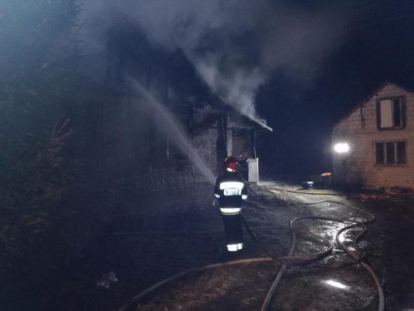 Tragiczny pożar na Lubelszczyźnie. Zginęła matka z synem