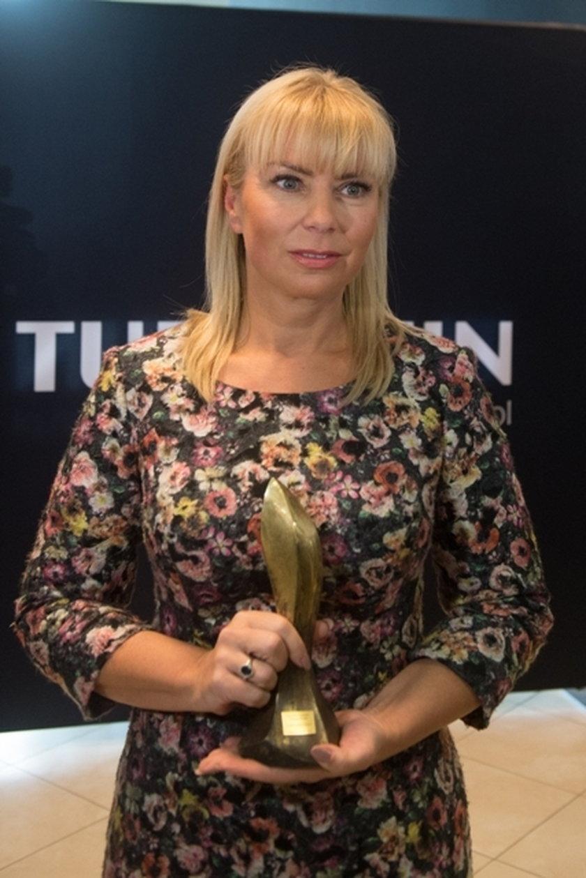 Elżbieta Bieńkowska z nagrodą