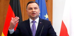 Prezydent Andrzej Duda skarży się na ciężki los