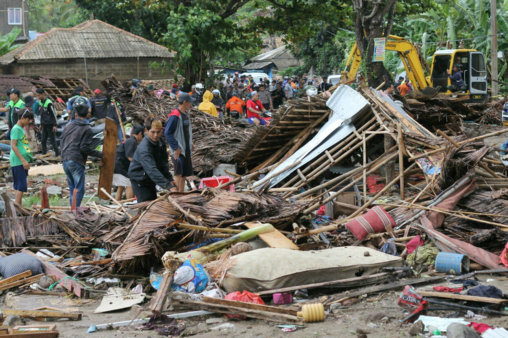 indonezija cunami nove
