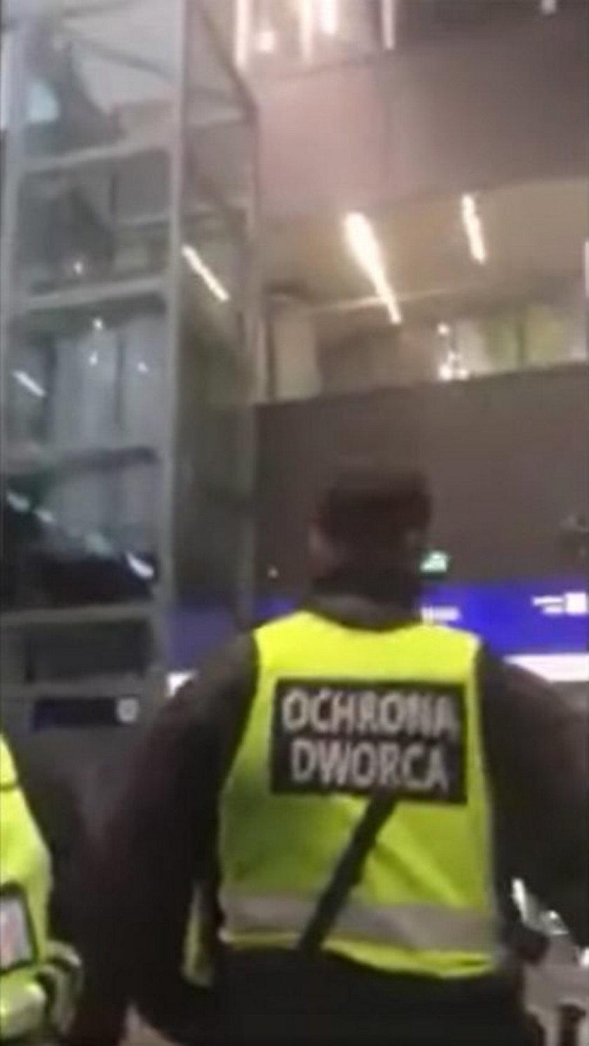 Ochroniarze z Centralnego już mają kłopoty