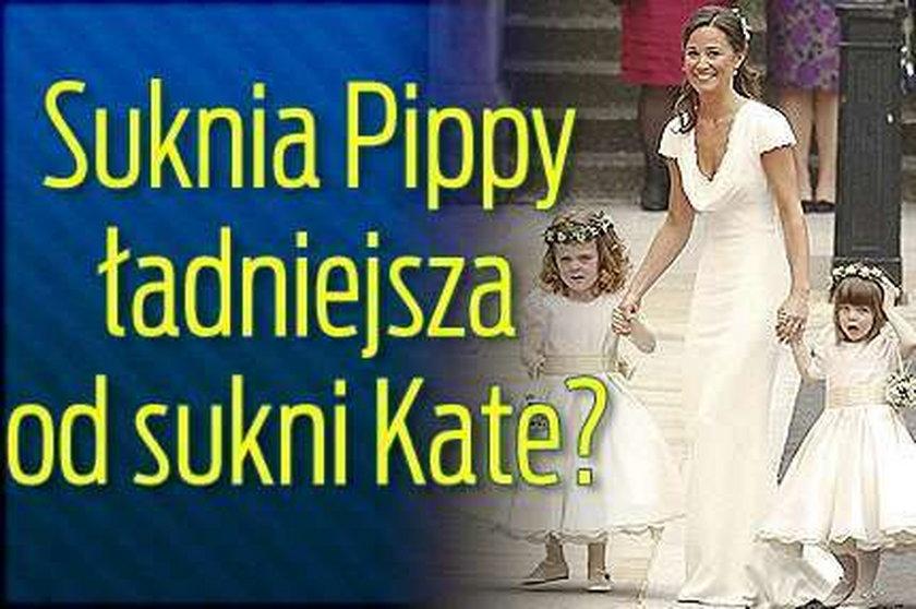 Suknia Pippy ładniejsza od sukni Kate?
