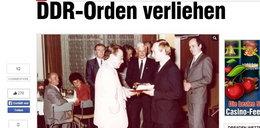 Putin dostał odznaczenie od Stasi