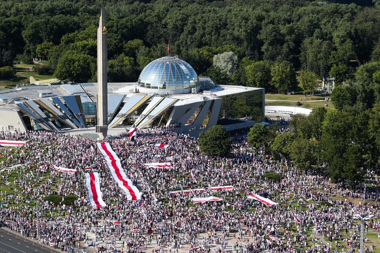 belorusija, minsk, protesti protiv lukašenka