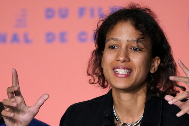Mati Diop, French-Senegalese actress and director (AFP)
