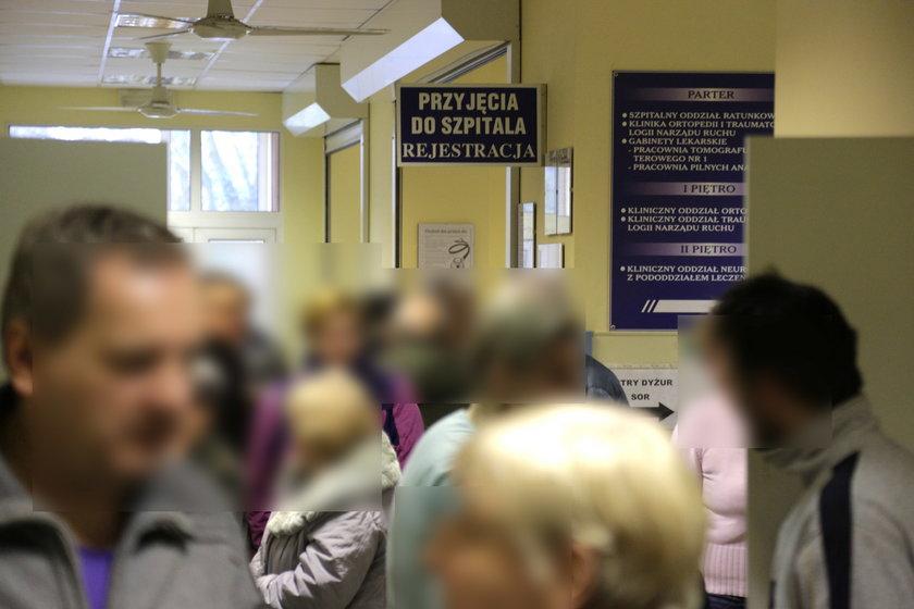 Rejestracja do szpitala przy ul. Weigla we Wrocławiu