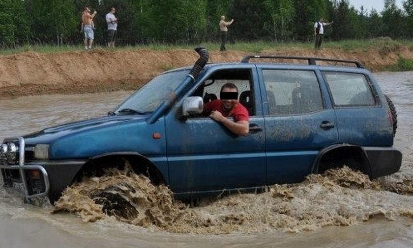 Andrzej K. sprawca wypadku w podstolicach
