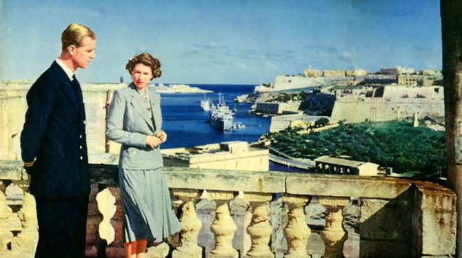 Elizabeta i Filip na Malti