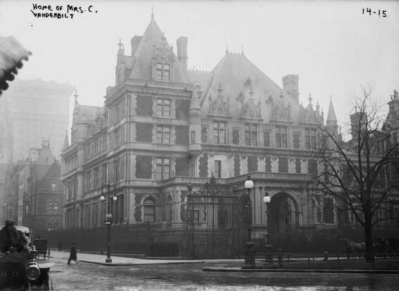 Jedna od luksuznih njujorških kuća porodice Vandrbilt