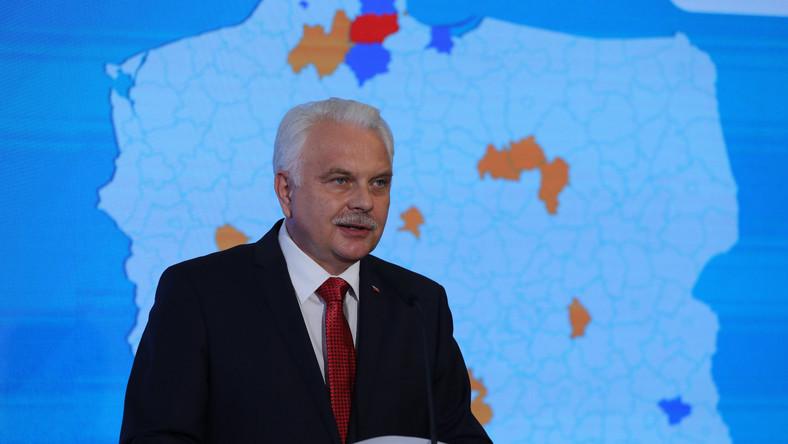 Wiceminister Waldemar Kraska