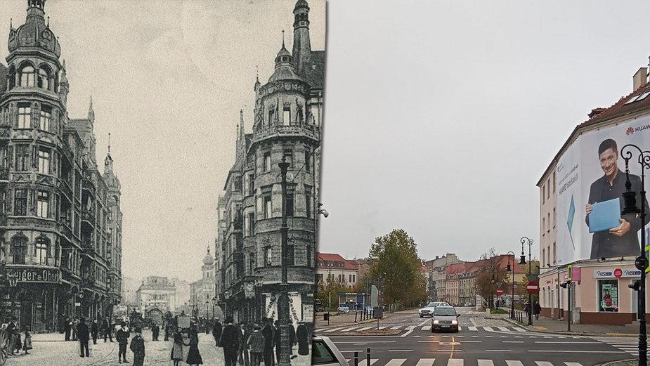 Skrzyżowanie ulic Garbary i Wielkiej w Poznaniu. Piękno utracone przez wojnę!