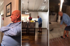 """""""JE*O TE KO TE NAPRAVI"""" Deda Hrvat načisto poludeo kada je čuo robota da izgovara """"Srbija"""" u njegovoj kući, pa uradio nešto NEČUVENO (VIDEO)"""